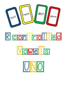 R-controlled Vowels UNO with phrases