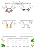 R-controlled Vowels Worksheets