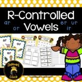 R-controlled Vowels  ar  or  er  ir  ur