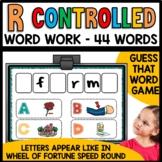 R controlled (ar, er, ir, or, ur)