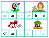 R controlled vowel clip cards