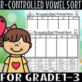 R-controlled vowel sort(50% off for 48 hours)