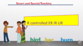 R controlled vowels IR ER UR Powerpoint & Google Slides Un