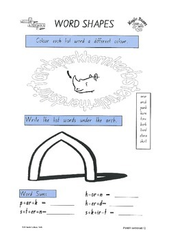 R-controlled vowels Activity Pack