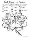 R-controlled vowels Roll, Read, 'n Color
