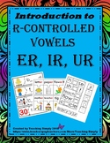 R-Controlled Vowels Activities er ir ur