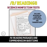 R in Readings Bundle - Landforms, Thunder, Earthquakes, Floods