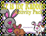 Letter of the Week - R is for Rabbits Preschool Kindergarten Alphabet Pack