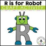 Letter R Craft {Robot}