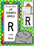 R is for Rock.  To Use with My Father's World.  Alphabet W