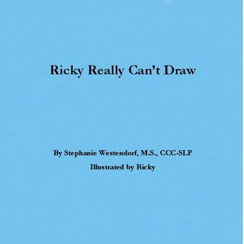 R Book - Ricky Really Can't Draw - Speech Therapy for /r/ Phoneme!