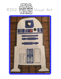 Red Pants Writing: R2D2 Visual Art Sequence & Worksheets
