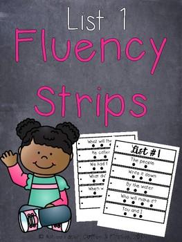 Fluency Strips List 1