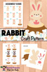 RABBIT NONFICTION UNIT (Booklet, Craft Pattern, Lapbook)