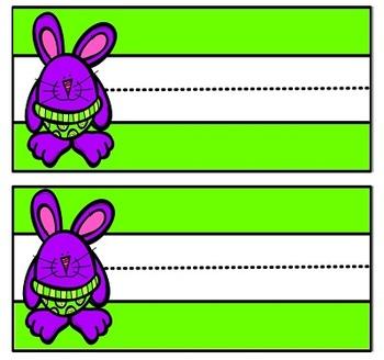 Rabbit Theme Classroom Decor and Character Education