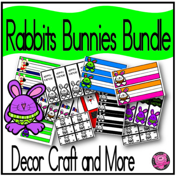 RABBIT THEME CLASSROOM MANAGEMENT and NAMEPLATES