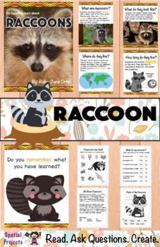 All About Raccoons Nonfiction Unit