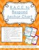 RACE Chevron Print Anchor Chart- CCSS Writing, Citing Evid
