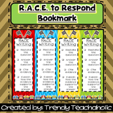 RACE Bookmark (RACE Unit)- CCSS Text Dependent/ Citing Evidence- Open Response