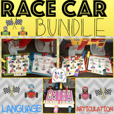 RACE CAR, BUNDLE-GAME COMPANIONS OR ACTIVITY/SMASH MATS (SPEECH THERAPY)