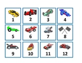 RACE CAR Calendar Set