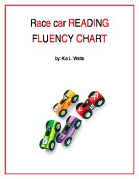 RACE CAR FLUENCY CHART