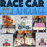 RACE CAR LANGUGE, GAME COMPANION OR ACTIVITY/SMASH MATS (SPEECH THERAPY)