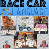 RACE CAR LANGUGE, GAME COMPANION OR ACTIVITY/SMASH MATS (S