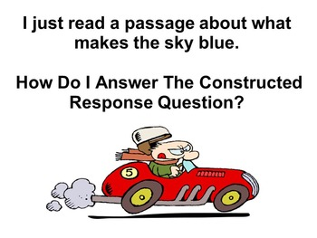 R.A.C.E. Constructed Response Strategy Mini-Lesson