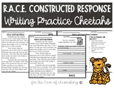 RACE Constructed Response Writing Practice- Cheetahs