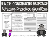 RACE Constructed Response Writing Practice- Gorillas