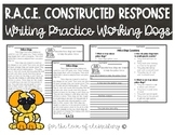 RACE Constructed Response Writing Practice- Working Dogs
