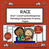 RACE Strategy Constructed Response Writing Practice Planni