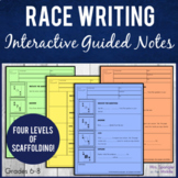 RACE Expository Writing Strategy Pixanotes® ~ EDITABLE