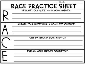RACE Freebie