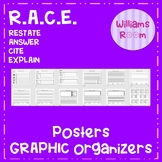 Writing Graphic Organizers R.A.C.E Bundle