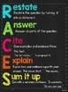 RACE & RACES Writing Response Poster Bundle