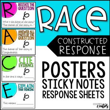 RACE Strategy | RACE Posters | Constructed Response