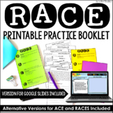 RACE Practice - Constructed Response with Google Slides | Distance Learning