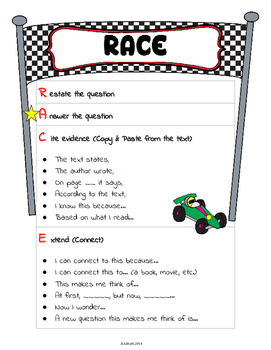 RACE: Answering Text-Dependent Questions