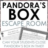 RACE Short Answer Writing Escape Room: Pandora's Box