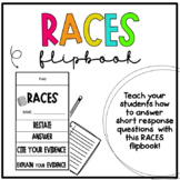 RACE Short Response Flipbook