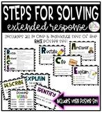 RACE- Steps for Solving Extended Responses