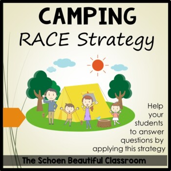 RACE Strategy Camping Theme Posters