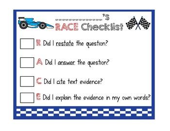 RACE Strategy Checklist