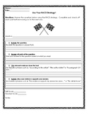 RACE Strategy Graphic Organizer/ Checklist
