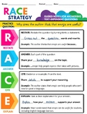RACE Strategy Guided Notes   Informative Writing