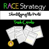 RACE Strategy - Identifying the Parts Task Cards