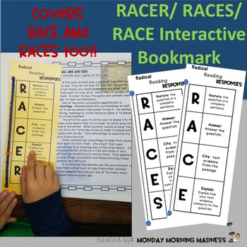 RACE Strategy Interactive Bookmark