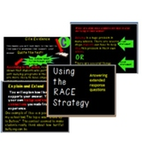 RACE Strategy Pack- Introductory Presentation, Posters, and More